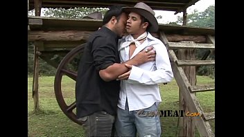 Gay farm Cum meat - two farmer gay guy hot fuck