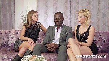Private.com - Ria Sunn & Sarah Key BBC Ass Fucking Threesome
