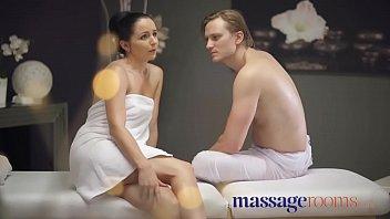 Massage Rooms Shy woman Kittina Clairette cheats on husband on holiday