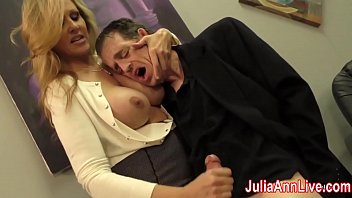 Free sexy heels - Sexy milf julia ann milks him on date night