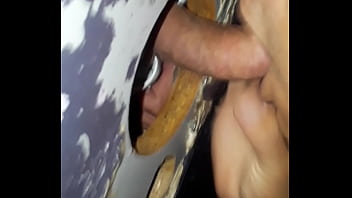 Adult gay store video Tony gage at glory hole