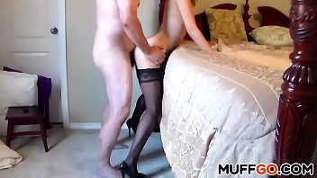 Sexy babe gets fucked hard doggystyle