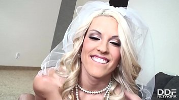 Teen wedding dresses - Beautiful blonde bride blanche bradburry gives a mind-blowing pov blowjob