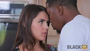 BLACK4K. Black repairman can satisfy sexual needs of white chick