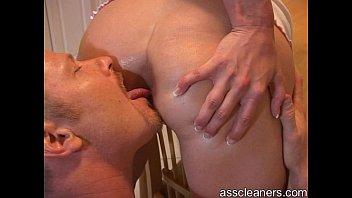Men licking your anus
