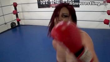 Redhead Fighter Femdom POV Full Nude