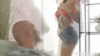 18 Virgin Sex - 18 Year Old Ludmila Works Her Boyfriend Is Massive Pole During V