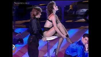Italian strip tv Lory del santo striptease