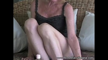 Grannies pussy clips Using a dildo to cum