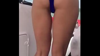 Rachel twerking hard