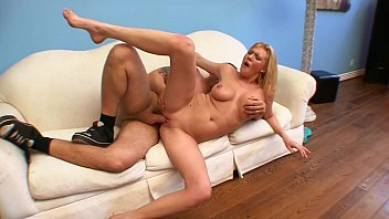 Fat teen cunts Blonde babe victoria vonn with nice ass on white sofa gets wet cunt drilled by fat dick