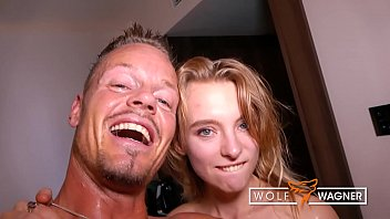 Ask a wolf now piss off Sweet little lily ray bangs stranger in german hotelroom wolf wagner love wolfwagner.love