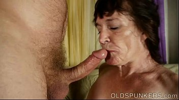 Cock hungry old spunker is a super hot fuck