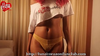 Tall girls lingerie Luna corazon used panties