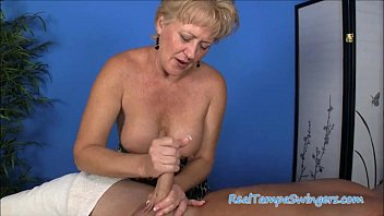 Hand milfs - Tracys hand job haven
