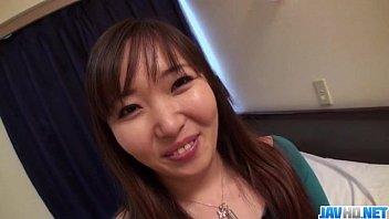 Busty Haruka Ohsawa rides cock like a true angel thumbnail