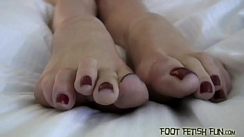 Open your mouth and worship our toes