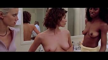Aliya Campbell & Jaclyn DeSantis Nude Tits and Group Shower - Road Trip Thumb