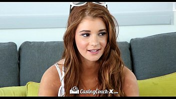 HD - CastingCouch-X Amateur cock sucker Ava Sparxx is auditioning for porn