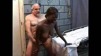 Old Perverted Grandpa Fucks Black Teen Girl