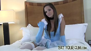 I think its really hot when you eat your cum for me CEI