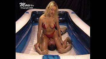 Mixed Oil Wrestling - 010 - Posh Girl Smother - Jessica