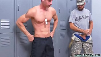 Gay soldier gets railed