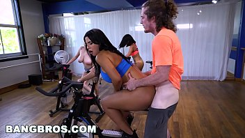 BANGBROS - Curvy Latina Rose Monroe Fucked in Spin Class by Brick Danger