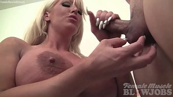 Watch hand jobs 17 free Female muscle porn star takes cum on her huge tits