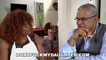 Big pussy t - Dont fuck my daughter - black teen kendall woods fucks her fathers friend, jax slayher