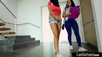 (Valentina Nappi & Luna Stars) Teen Lesbians Play In Hot Act movie-30