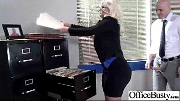 Cute Bigtits Girl (julie cash) Like Hardcore In Office video-20