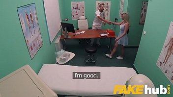 Nurse tits caught in hospital Fake hospital fast fucking gives blonde big tits brit multiple orgasms