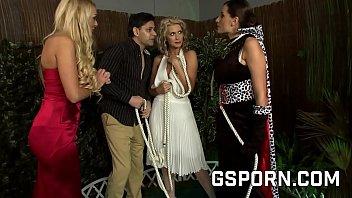 Hot Orgy For The Milfs Natasha Marley & Sensual Jane & Stacey Saran