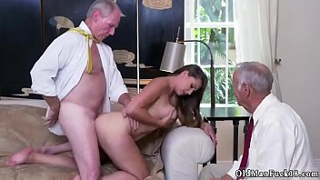 daddy piss ivy impresses with her hefty hooters and ass