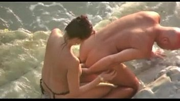 Wife fucks the bitch on another greek beach