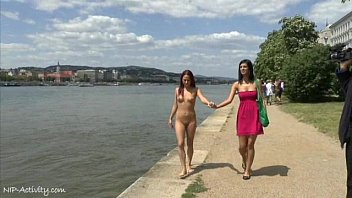 Teen son activities Crazy naked tereza shows her hot body on public streets