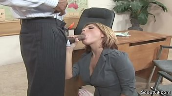 Seduced by my mature milf boss - Office milf seduce to fuck by black boss with huge dick
