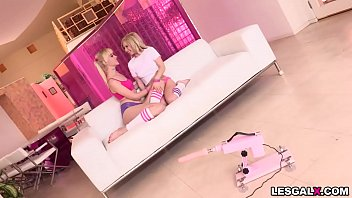 Blonde Lesbian BFFs Kenzie Reeves and Chloe Cherry do their 1st ANAL gaping with gape licking and analingus.This is one hot lesbian sex at its finest.