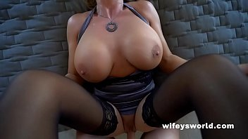 Biggest tits in the world mpegs Cum swallowing queen gets fucked and eats loads