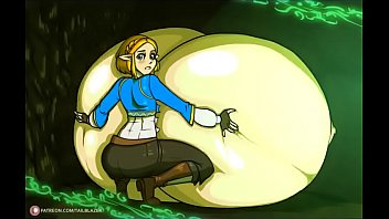 Princess Zelda breast expansion