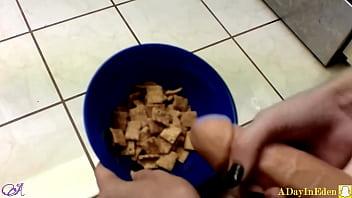 Cum stains on sheets Futanari fantasies : cumming on my cereal : a sneak peek