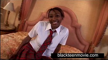 Black girls on white porn Busty black school teen fucking hot student video