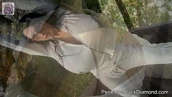 Image: Penelope Black Diamond - Jogging Sport with huge Boobs