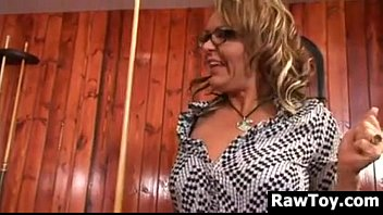 Adult on demand schedule - Old and young lesbians with an adult toy