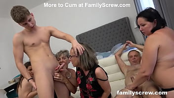 One blessed Sunday orgy 10 min