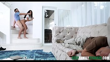 Hot Latina Teen Claire Black Gets Her Pussy Fucked By Her Pervy Uncle While Her Stepdad Is Sleeping On The Couch
