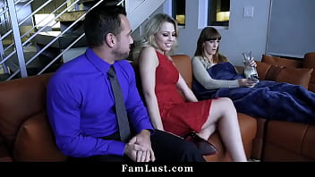 Daddy Fucks His Teen Girl While Mom is Resting Beside