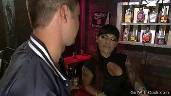 Transvestite bar nashville Ts foxxy ponds ass to guy in bar