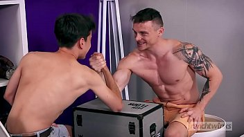 Naked young boy gay sex video He BJ&#039_s Julian&#039_s spear and then bends gay-porn gay-cut gay-brown-hair